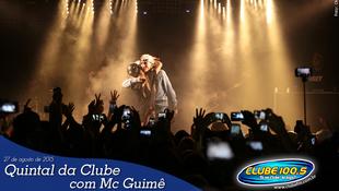 Foto Quintal da Clube com Mc Guimê 107