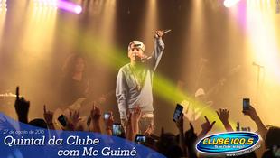 Foto Quintal da Clube com Mc Guimê 115