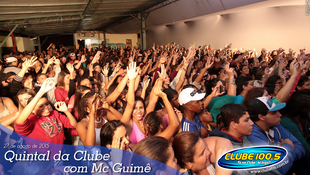 Foto Quintal da Clube com Mc Guimê 118