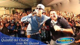 Foto Quintal da Clube com Mc Guimê 119