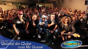 Foto Quintal da Clube com Mc Guimê 120