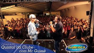 Foto Quintal da Clube com Mc Guimê 121