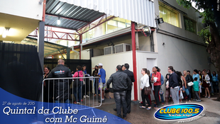 Foto Quintal da Clube com Mc Guimê 128