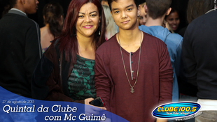 Foto Quintal da Clube com Mc Guimê 131