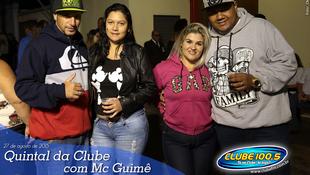 Foto Quintal da Clube com Mc Guimê 139