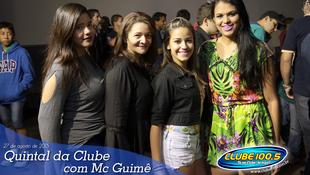 Foto Quintal da Clube com Mc Guimê 140