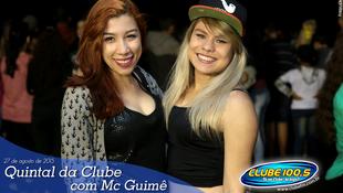 Foto Quintal da Clube com Mc Guimê 142