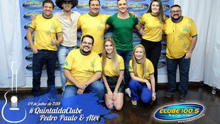 Foto Quintal da Clube com Pedro Paulo & Alex 1