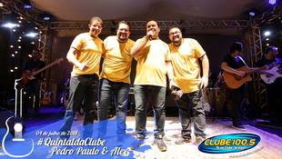 Foto Quintal da Clube com Pedro Paulo & Alex 7