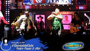 Foto Quintal da Clube com Pedro Paulo & Alex 8