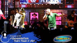 Foto Quintal da Clube com Pedro Paulo & Alex 11