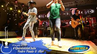Foto Quintal da Clube com Pedro Paulo & Alex 17