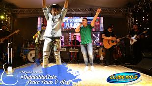 Foto Quintal da Clube com Pedro Paulo & Alex 23