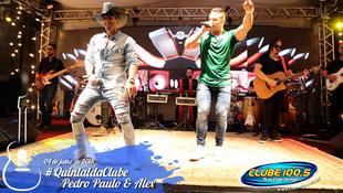 Foto Quintal da Clube com Pedro Paulo & Alex 26