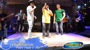 Foto Quintal da Clube com Pedro Paulo & Alex 31