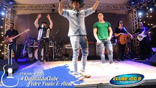 Foto Quintal da Clube com Pedro Paulo & Alex 33