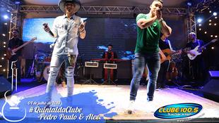 Foto Quintal da Clube com Pedro Paulo & Alex 35