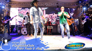 Foto Quintal da Clube com Pedro Paulo & Alex 44