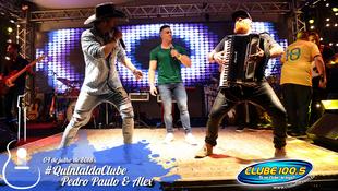 Foto Quintal da Clube com Pedro Paulo & Alex 47