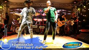 Foto Quintal da Clube com Pedro Paulo & Alex 53