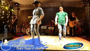 Foto Quintal da Clube com Pedro Paulo & Alex 54