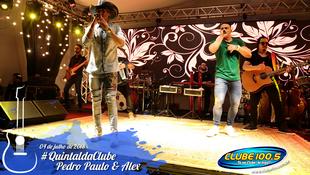 Foto Quintal da Clube com Pedro Paulo & Alex 55