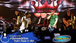 Foto Quintal da Clube com Pedro Paulo & Alex 68