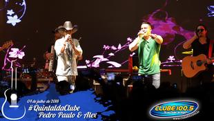 Foto Quintal da Clube com Pedro Paulo & Alex 69