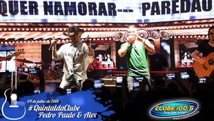 Foto Quintal da Clube com Pedro Paulo & Alex 72