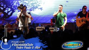Foto Quintal da Clube com Pedro Paulo & Alex 75