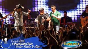 Foto Quintal da Clube com Pedro Paulo & Alex 76
