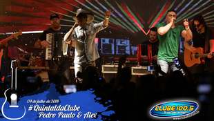 Foto Quintal da Clube com Pedro Paulo & Alex 79