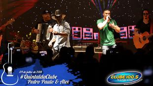 Foto Quintal da Clube com Pedro Paulo & Alex 81
