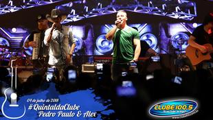 Foto Quintal da Clube com Pedro Paulo & Alex 83