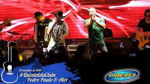 Foto Quintal da Clube com Pedro Paulo & Alex 84