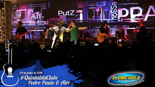 Foto Quintal da Clube com Pedro Paulo & Alex 87