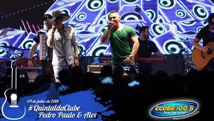 Foto Quintal da Clube com Pedro Paulo & Alex 90