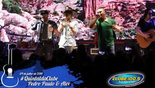 Foto Quintal da Clube com Pedro Paulo & Alex 91
