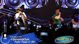 Foto Quintal da Clube com Pedro Paulo & Alex 94