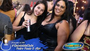 Foto Quintal da Clube com Pedro Paulo & Alex 98