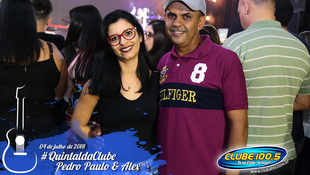Foto Quintal da Clube com Pedro Paulo & Alex 100
