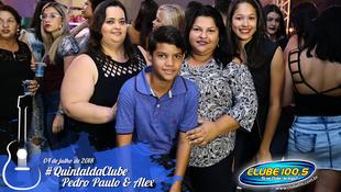 Foto Quintal da Clube com Pedro Paulo & Alex 101