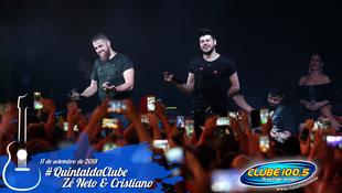 Foto Zé Neto & Cristiano no #QuintaldaClube 55