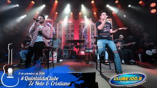 Foto Zé Neto & Cristiano no #QuintaldaClube 70