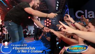 Foto Zé Neto & Cristiano no #QuintaldaClube 84