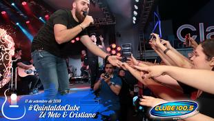 Foto Zé Neto & Cristiano no #QuintaldaClube 85