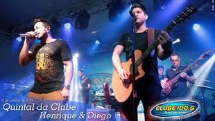 Foto Quintal da Clube com Henrique & Diego 1