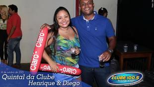 Foto Quintal da Clube com Henrique & Diego 5