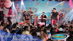 Foto Quintal da Clube com Henrique & Diego 10