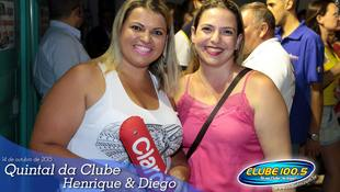 Foto Quintal da Clube com Henrique & Diego 12